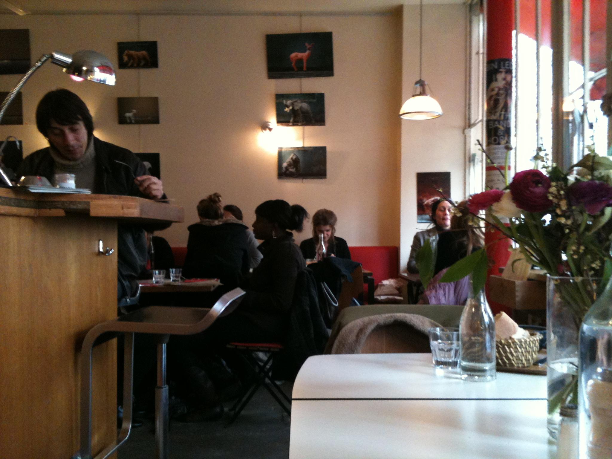 パリのビオカフェ Sesame(セザム)