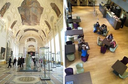 プティ・パレ美術館のミュージアムカフェ
