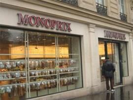 パリのモノプリ