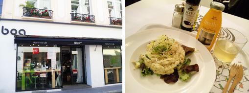 パリのビオカフェ ビオボア