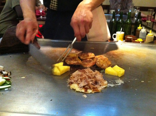 鉄板焼きレストラン