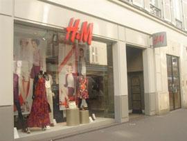 パリのH&M