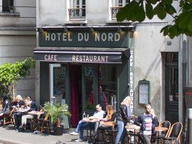 パリのレストランバー オテル・デュ・ノール