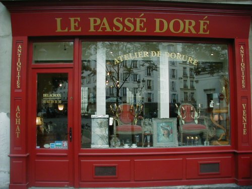 パリのブロカント ル・パッセ・ドレ