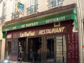 パリの映画カフェ ル・ルフレ