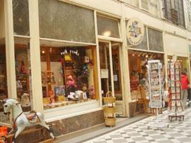 パリのおもちゃ屋さん