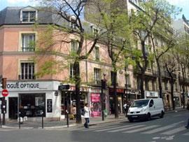 パリのストック街