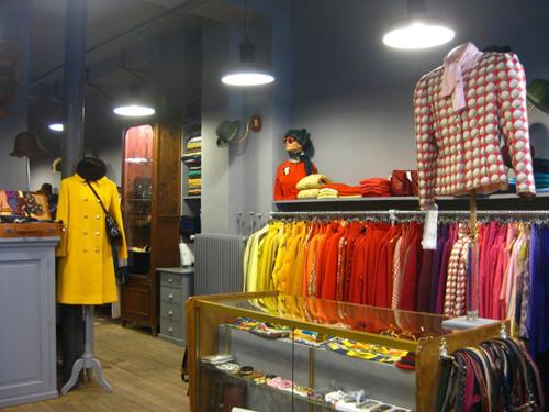 パリの古着屋