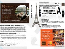 エッフェル塔のウェブ予約・チケット購入方法